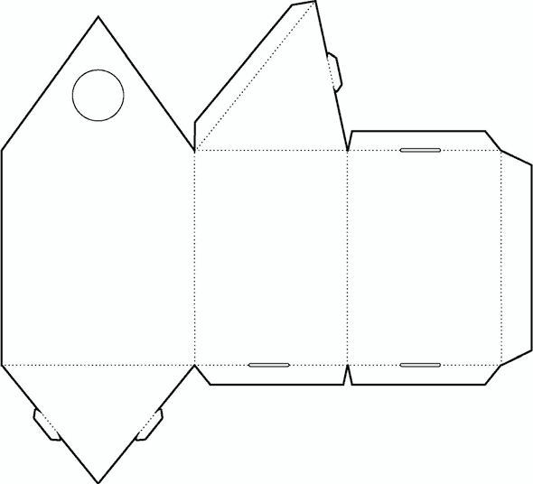 Triangle-Box-02-Die-Cutting