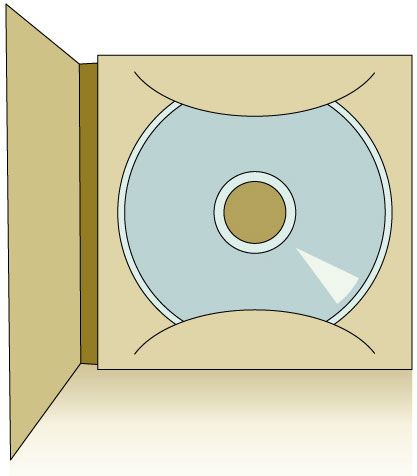 CD Box Template No.04