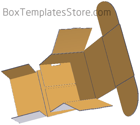 pictrue 2 for box template CB027