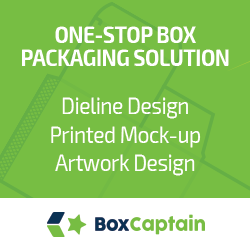 Box Captain, Dieline Design, Artwork Design